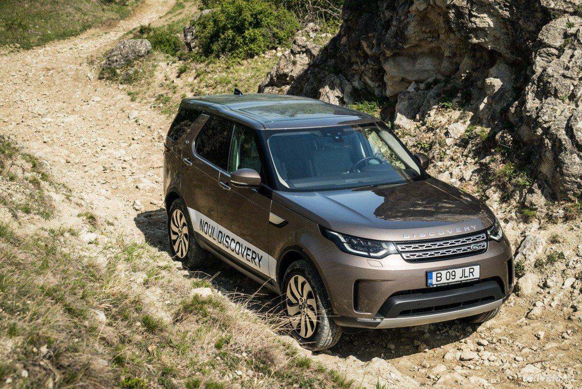 2017 Land Rover Discovery 2 0 Sd4 Hse Luxury Test Drive