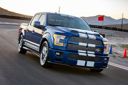 2017 Shelby F-150 Super Snake is a muscle truck that costs almost $100,000