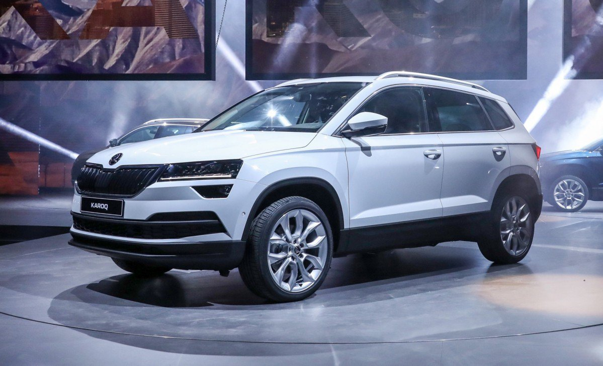 2017 skoda karoq ditches yeti 39 s eccentric bohemian outfit for a vw gr. Black Bedroom Furniture Sets. Home Design Ideas