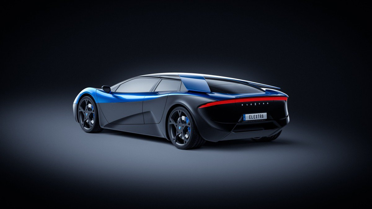 Swiss-designed, German-made 670 hp Elextra electric supercar to launc...