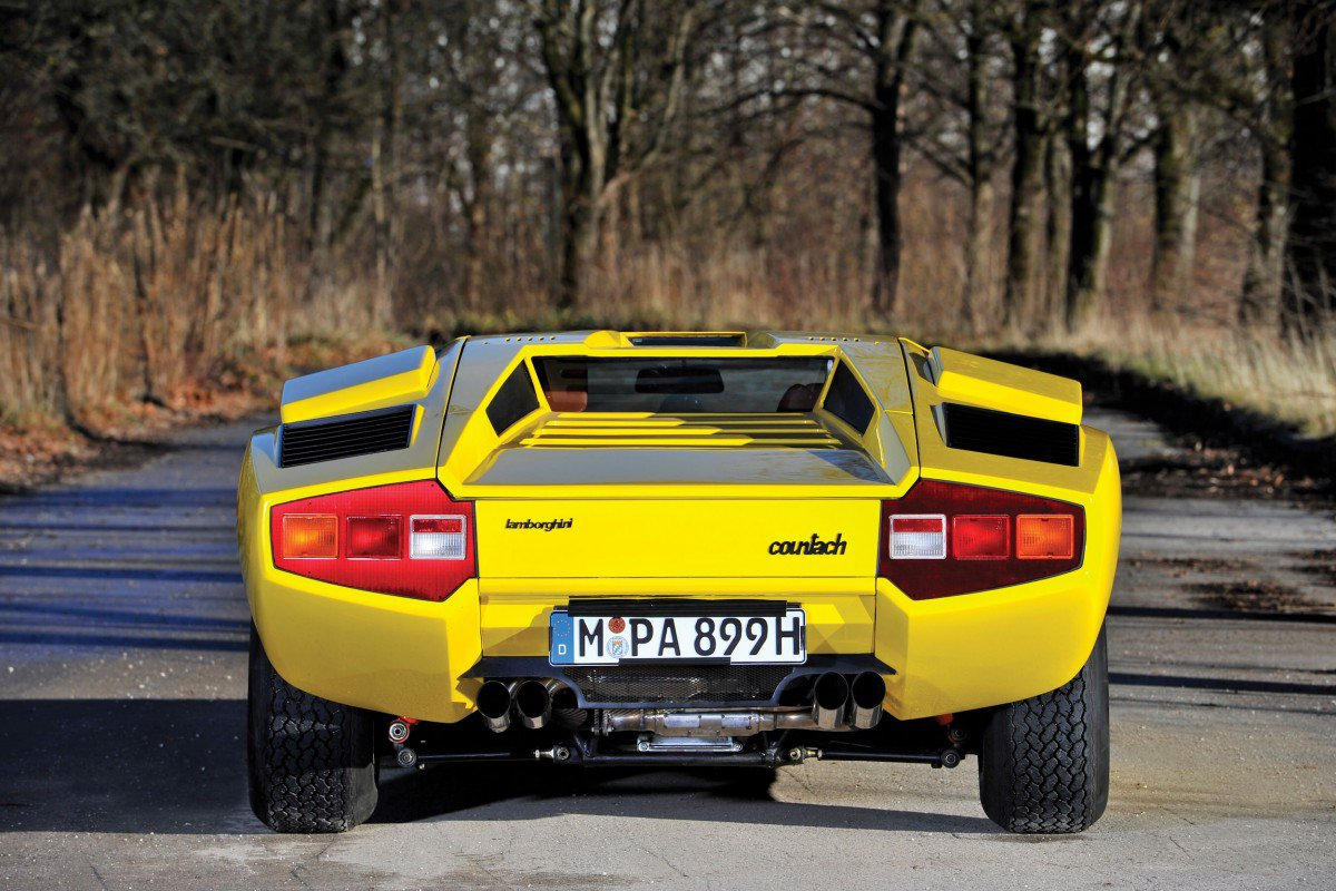 Rare Lamborghini Countach Lp400 Periscopio To Fetch Over