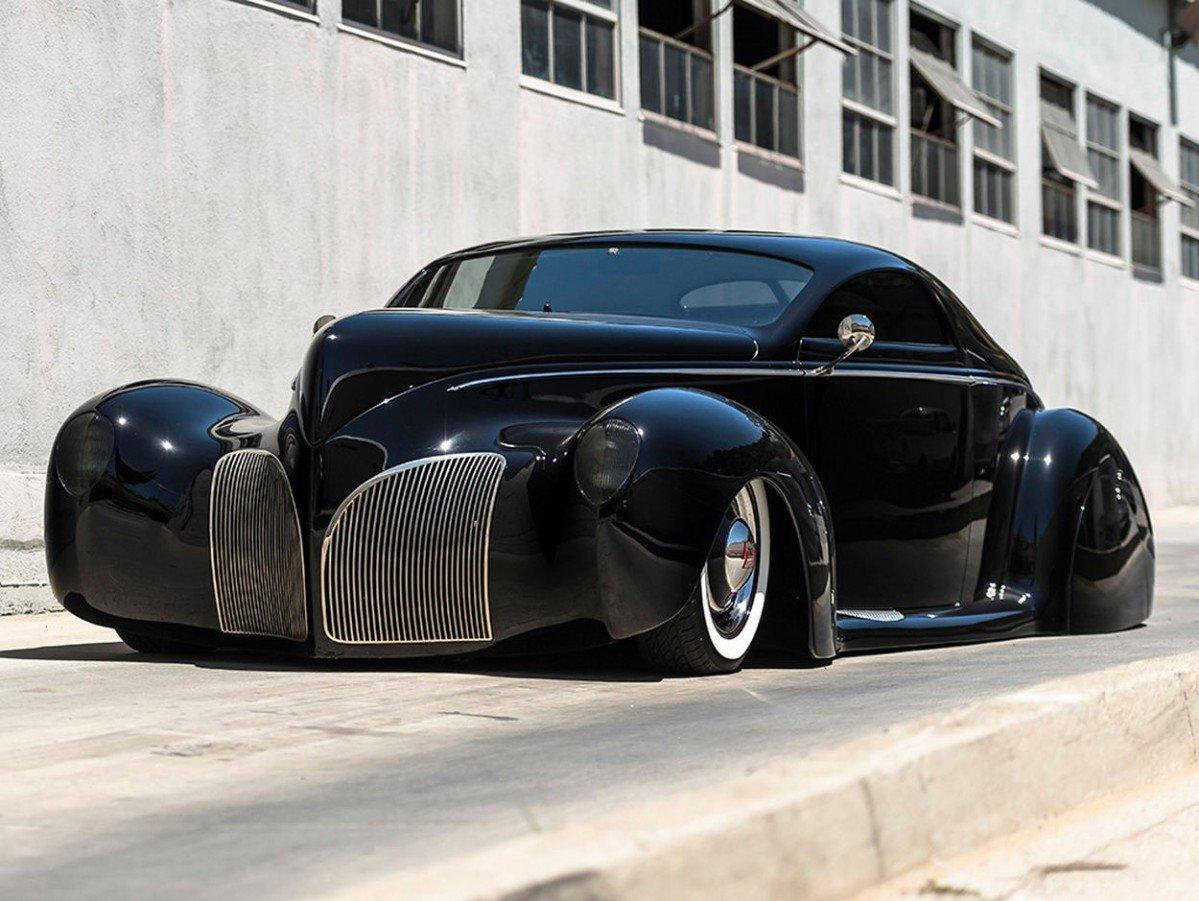 1939 Lincoln Zephyr Scrape Could Have Been Batman S Car
