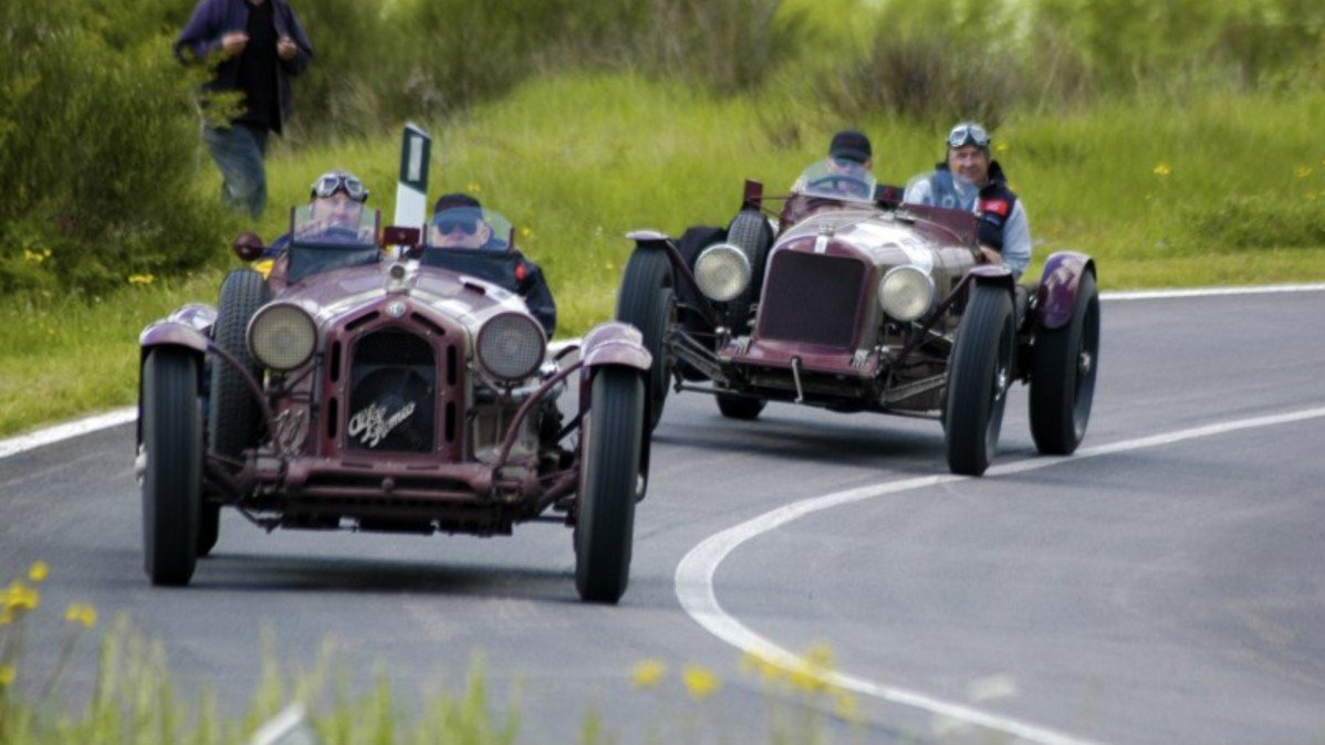 Mille Miglia Over Million Worth Of Classic Cars And - Classic cars 2017