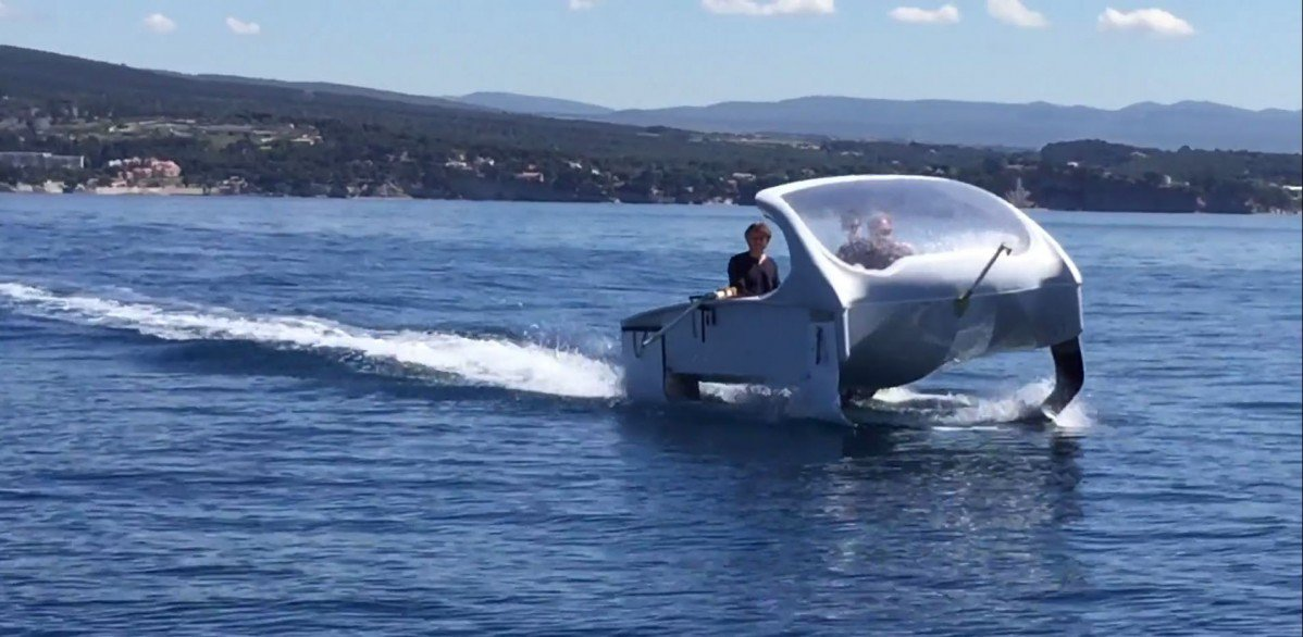 Seabubbles Wants To Become The Uber Of Water Taxis