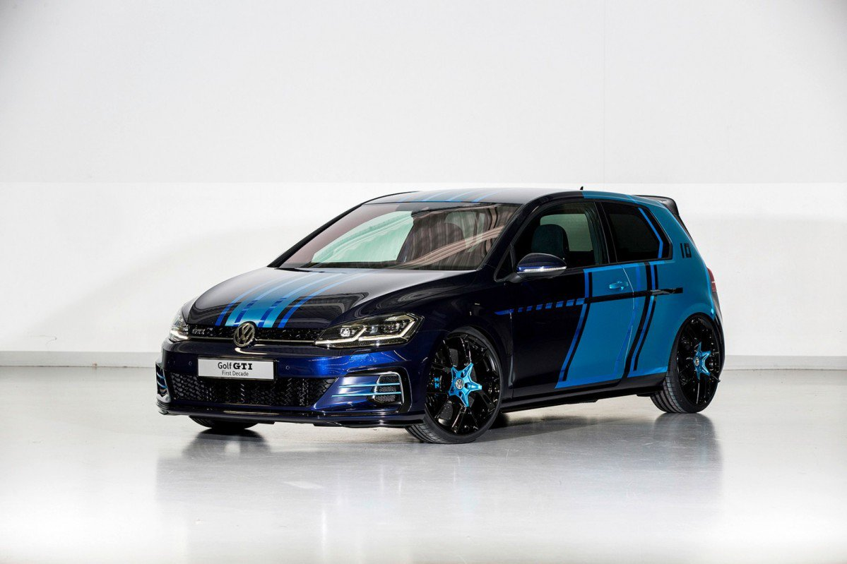 ... VW Golf GTI First Decade Debuts In Wörthersee With Electrically Driven  Rear Axle ...