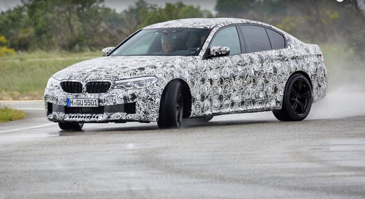 Heres Proof The 2018 BMW M5 Remains A Proper M Car In 2WD Mode
