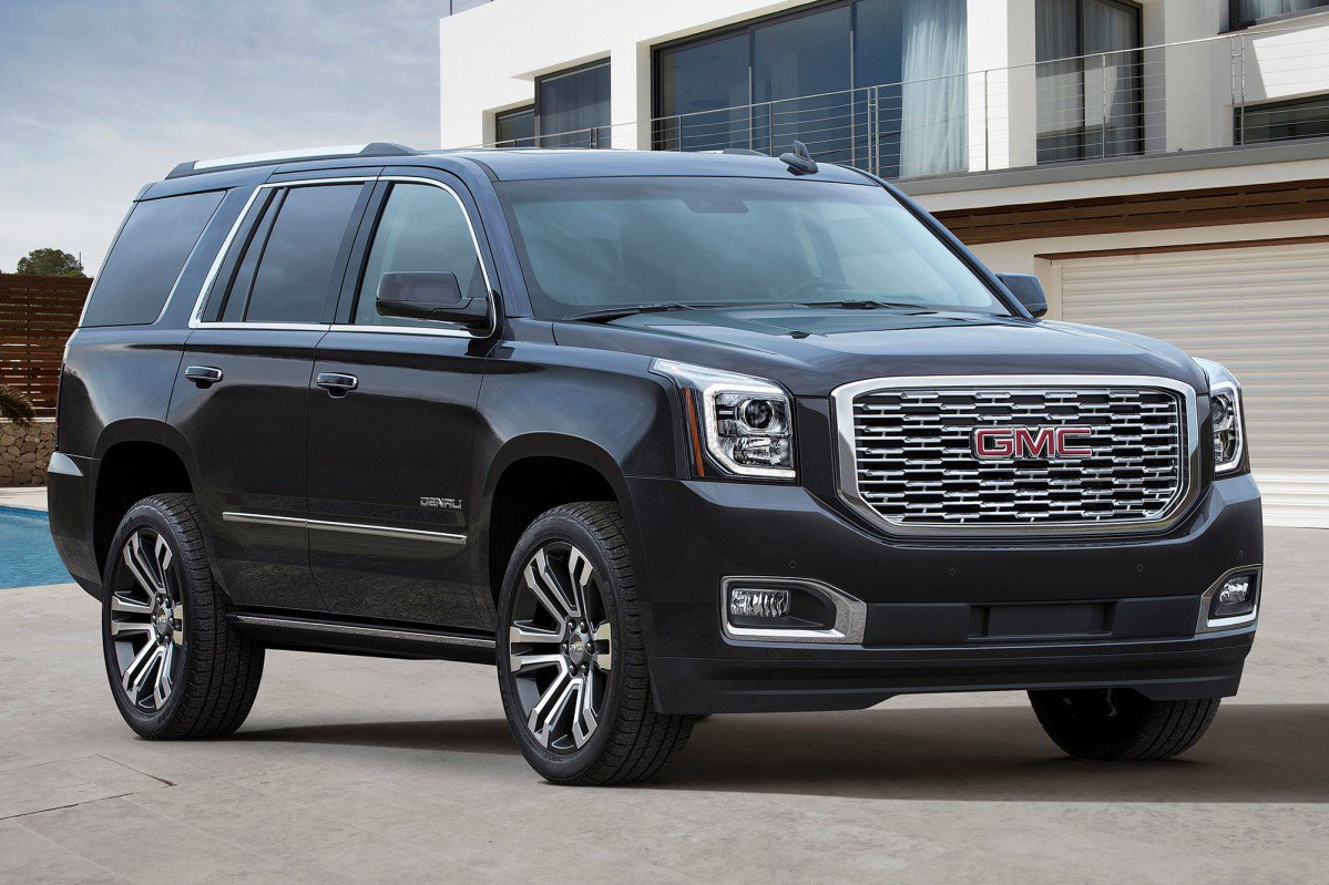 2018 GMC Yukon Denali gets the mother of all grilles, 10 ...