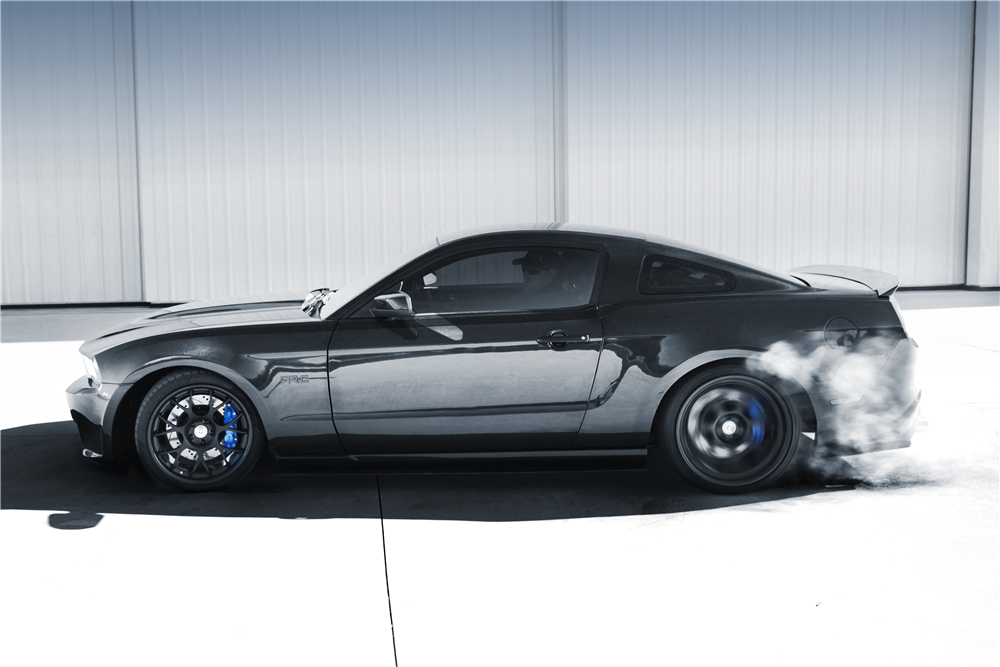 Vaughn Gittin Jr\'s 2010 Ford Mustang RTR-C is waiting for your money