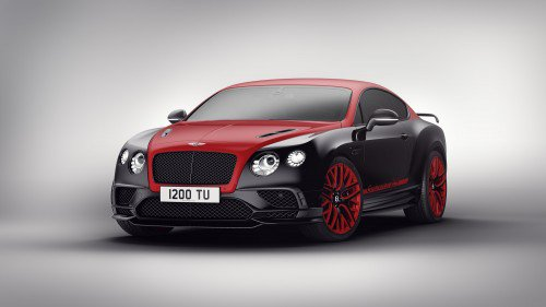 Bentley Continental 24 is a limited-run model dedicated to the Nürburgring 24-Hour race
