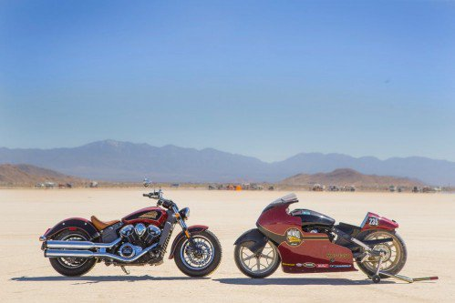 Indian Motorcycles - 50 years from the land speed record
