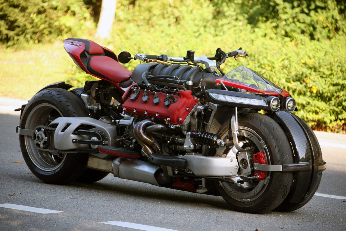 Lazareth LM 847 - a unique V8 Powered Motorcycle