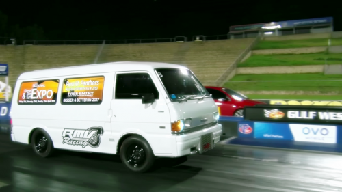 Watch this 450 hp cargo mover in action