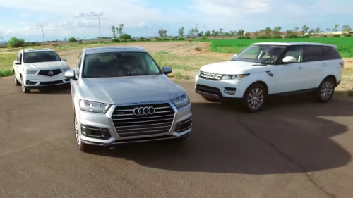 US: Video looks at which midsize luxury SUV is the best buy
