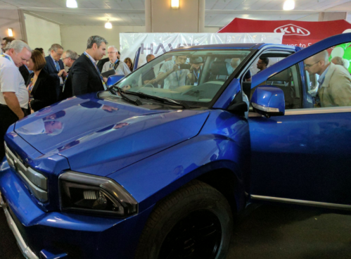 Meet the all-electric Havelaar Canada Bison pickup
