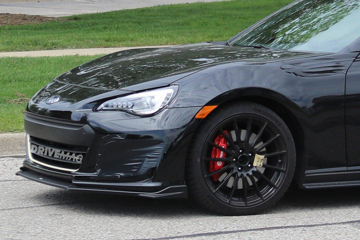 Yes Subaru Caught Testing A Brz Sti Hopefully With More