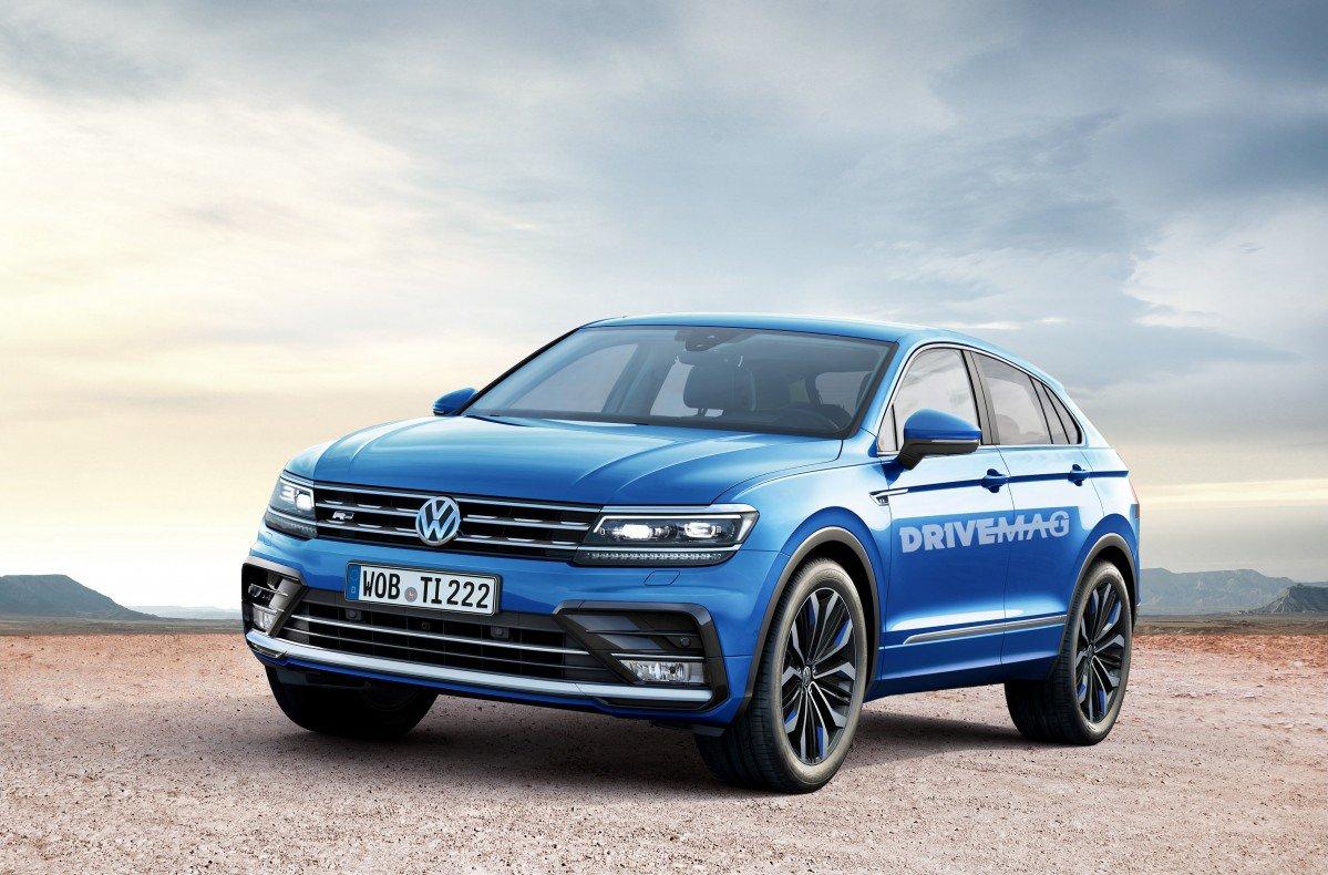 Tiguan Coupe 2018 >> Volkswagen Tiguan Coupé rendering looks plausible, we hope it never h...
