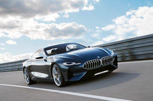 New 8er: BMW 8 Series concept breaks cover before Villa d'Este display