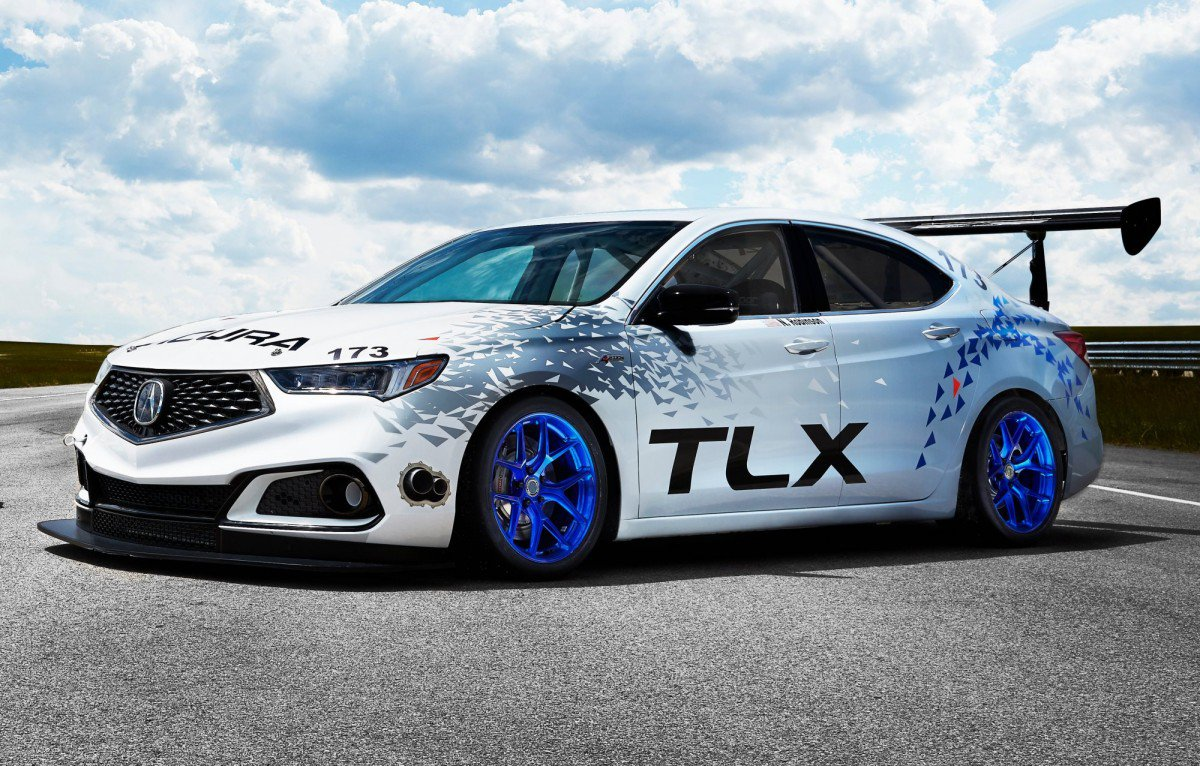 acura attacking 2017 pikes peak race with two tlx sedans and a gt3 in. Black Bedroom Furniture Sets. Home Design Ideas