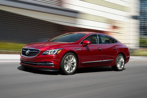 2018 Buick LaCrosse adds standard 2.5L engine with eAssist, optional nine-speed auto