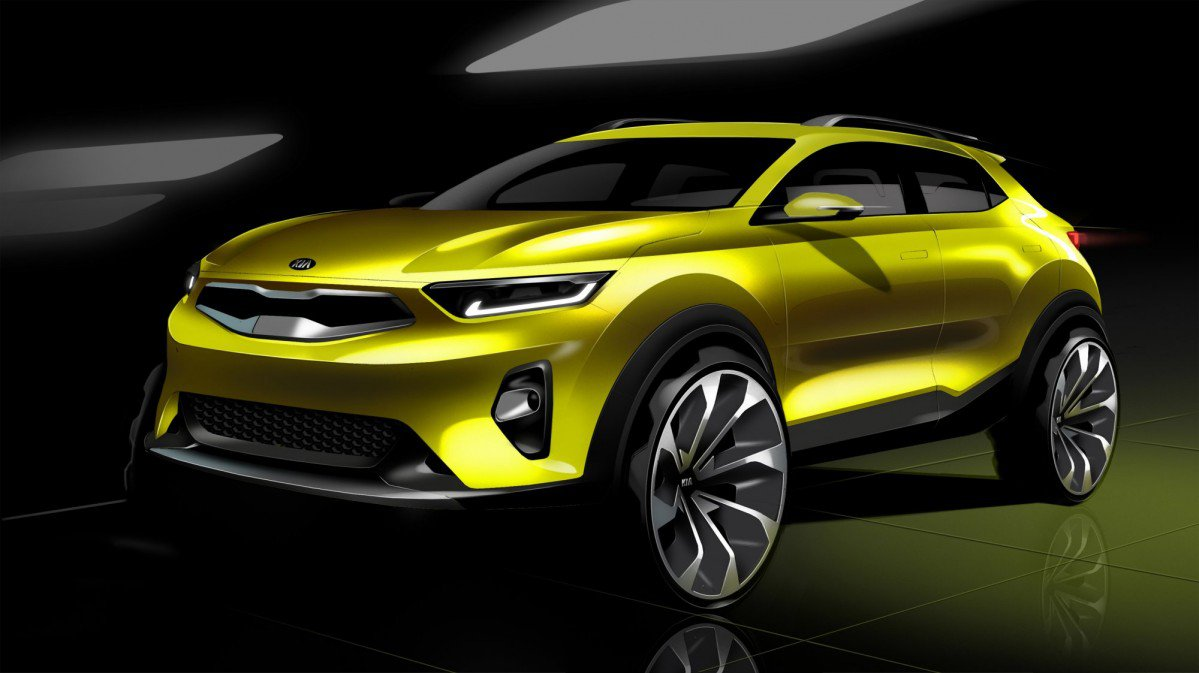 2018 Kia Stonic Small Crossover Teased Will Launch Later This Year A