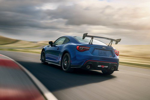 2018 Subaru BRZ tS unveiled with aero and suspension upgrades