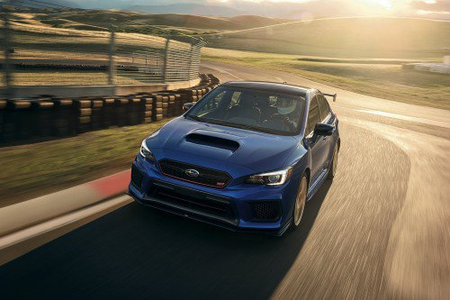 2018 Subaru WRX STI Type RA gets more power, sheds weight