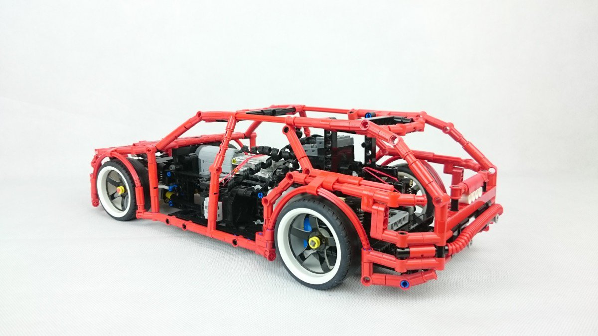 this fully functional lego technic 4x4 drift wagon is. Black Bedroom Furniture Sets. Home Design Ideas