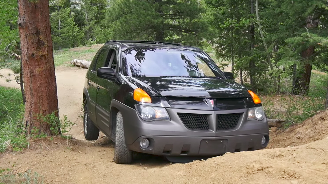Sure The Consensus About Pontiac Aztek Is That It S Ugly But