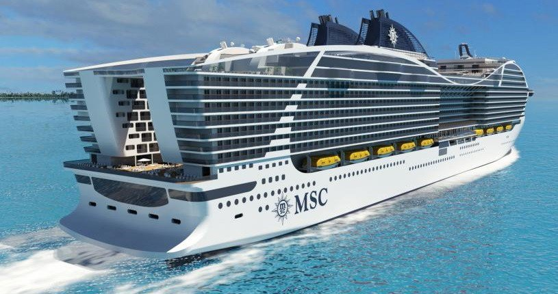 MSC Cruises Orders Four New LNG powered Mega Ships