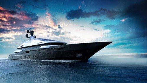 Oceanco unveils 90m concept Cosmos