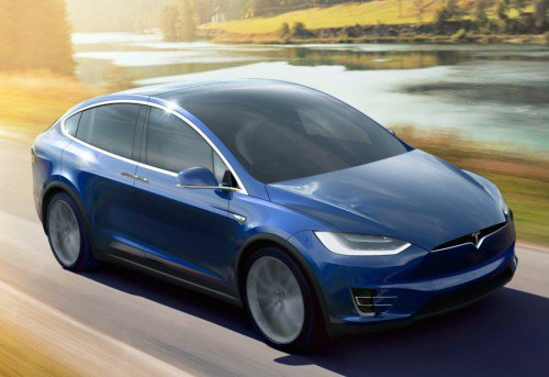 Tesla Model X gets over-the-air update