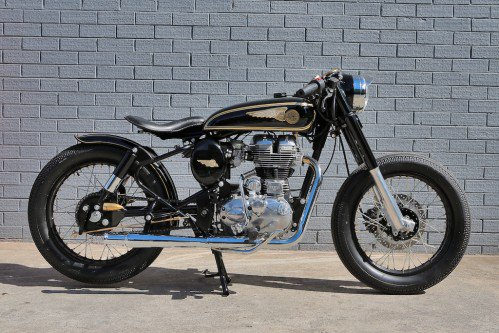 Mid Life Cycles Royal Enfield RE350 Brass Rajah Test: Indian bobber