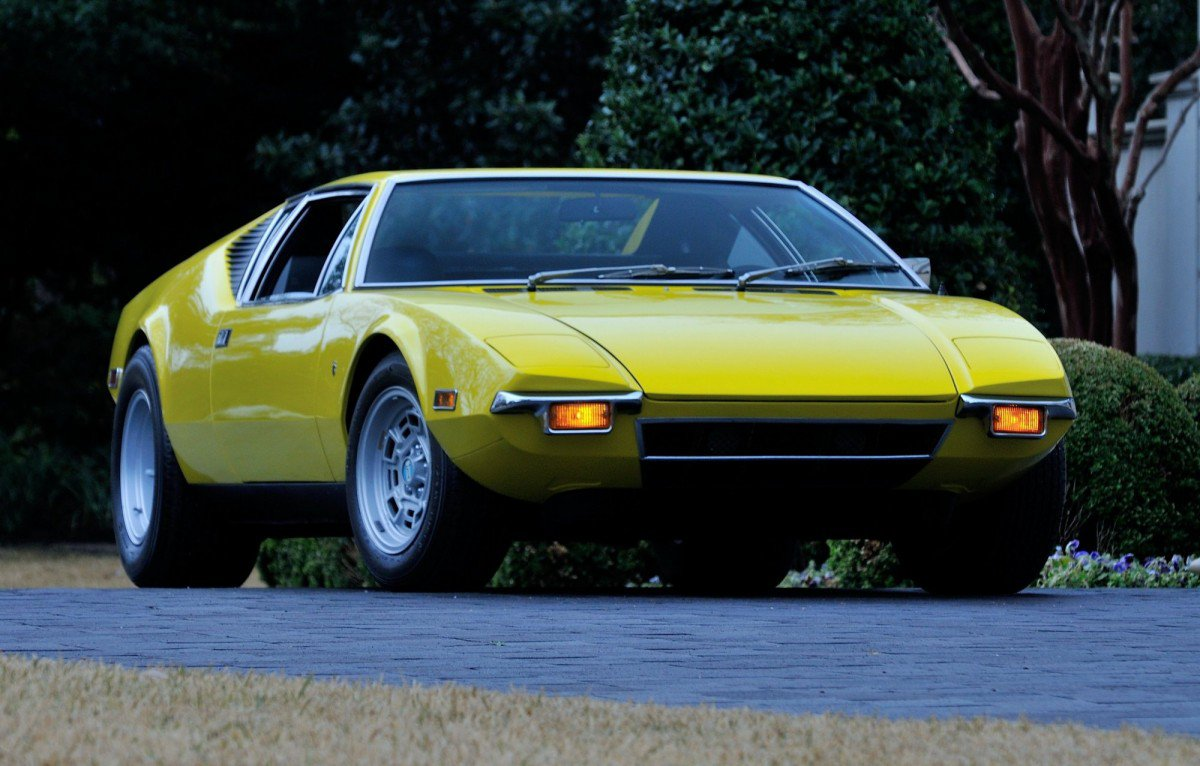 Six beautiful Italian sports cars that packed American V8 muscle