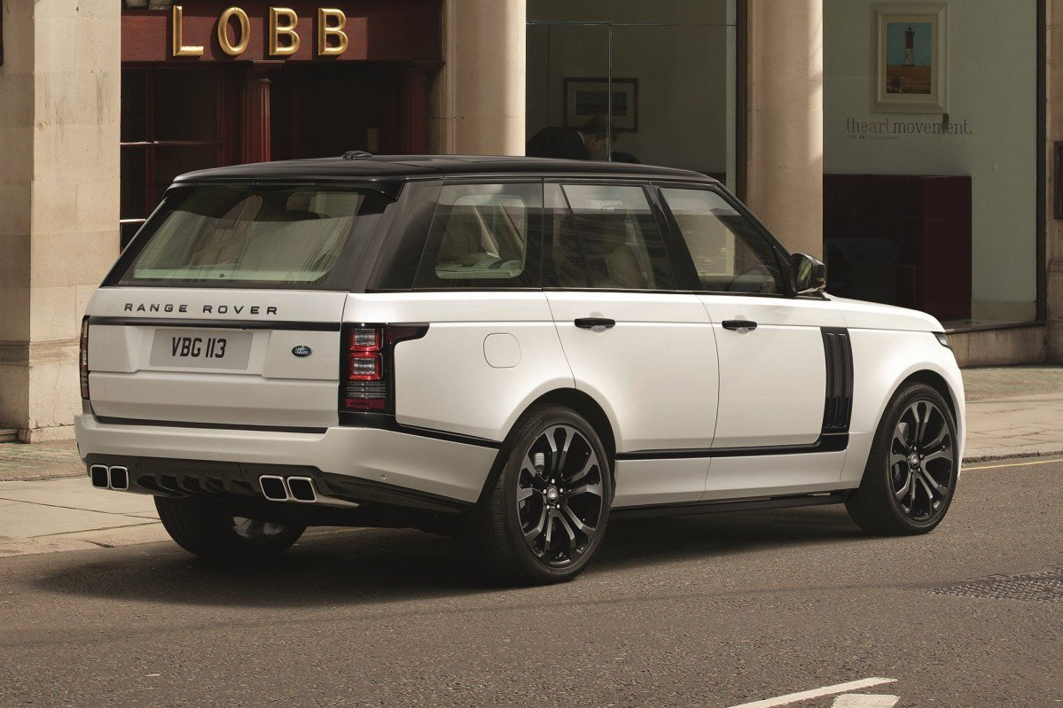 pimp  range rover  land rovers svo design pack