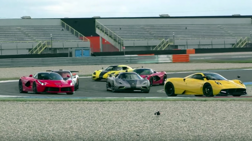 Start your week with the right tune (of a supercar herd)
