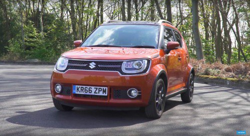 2017 Suzuki Ignis makes a good impression in UK review