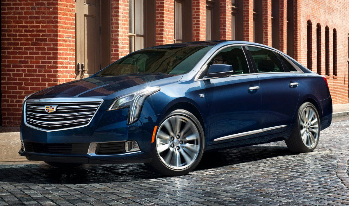 2018 cadillac xts gets thorough ct6 inspired makeover. Black Bedroom Furniture Sets. Home Design Ideas