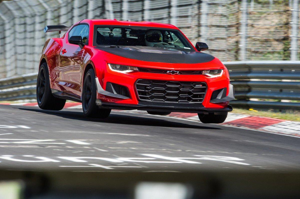 2018 Chevrolet Camaro Zl1 1le Becomes Fastest Camaro Ever