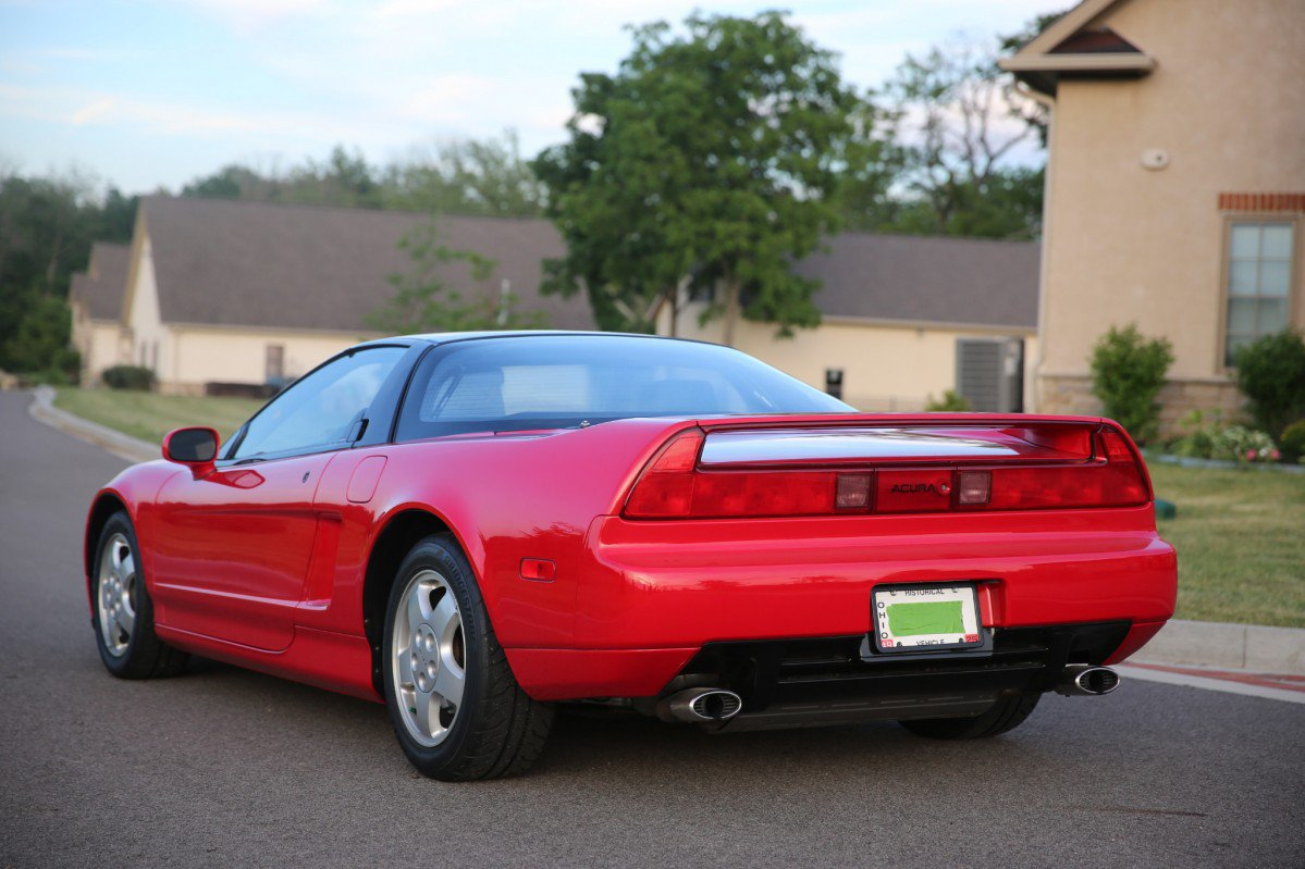 Must-have: '92 Acura NSX with just 9,500 miles on the odometer