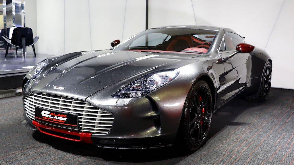 Ultra-rare Aston Martin One-77 Q-Series awaits new owner in Dubai