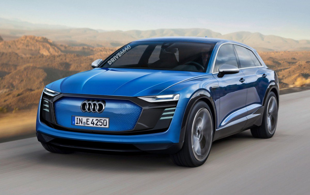 Audi E Tron Sportback Production Model Rendering Default Large