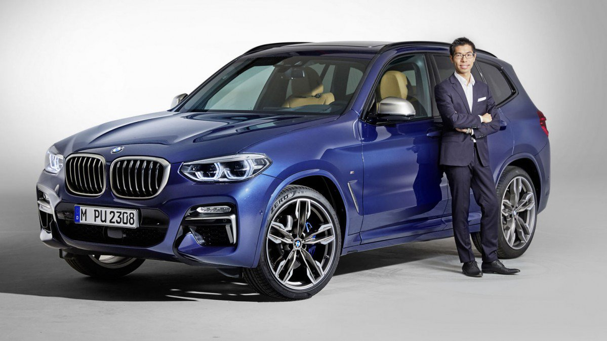 interview with calvin luk 2018 bmw x3 39 s exterior designer refining. Black Bedroom Furniture Sets. Home Design Ideas