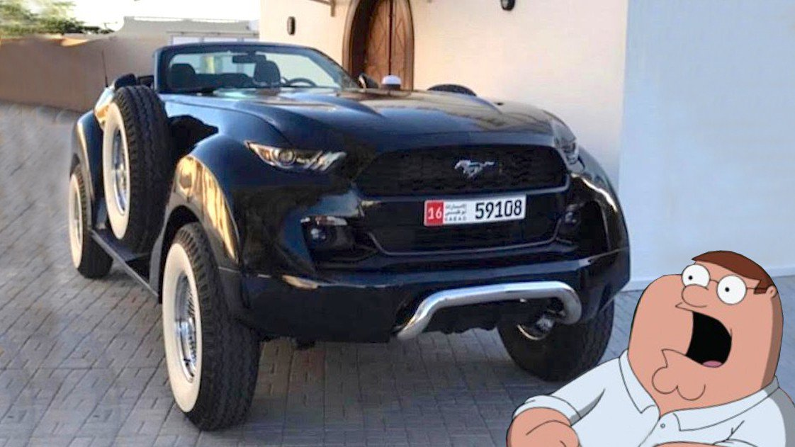 Toyota Pickup 4x4 >> What was the sheik thinking? This 4x4 with Mustang bits ...