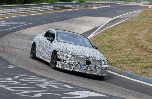 Mercedes-AMG GT sedan takes on the Nürburgring for the first time