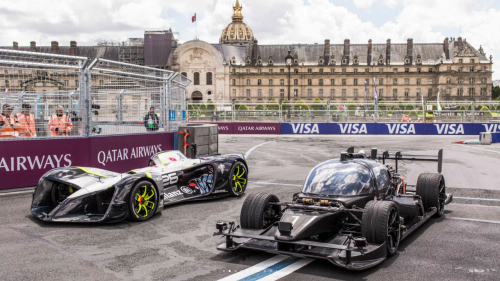 Roborace goes driverless on a circuit, completes a flying lap