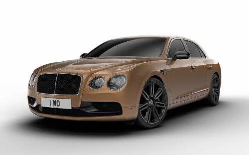Bentley Flying Spur Design Series by Mulliner is limited, exclusive