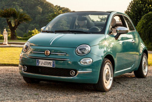 Fiat goes full retro with 500 Anniversario special edition