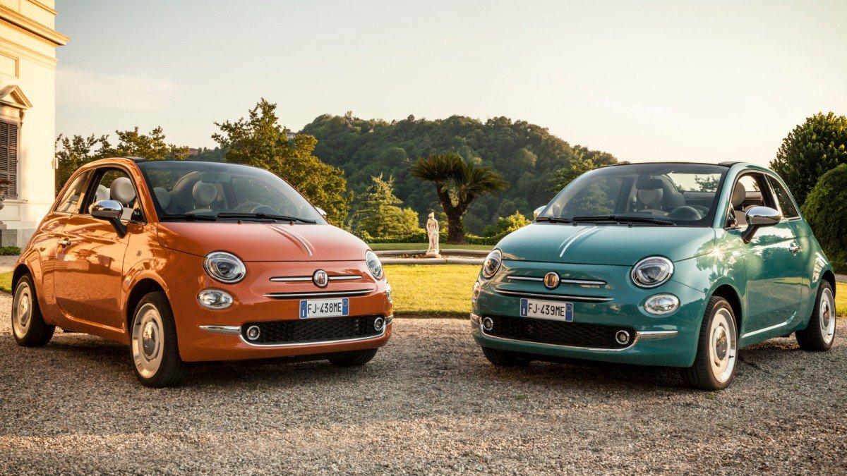 Très Fiat goes full retro with 500 Anniversario special edition OC78