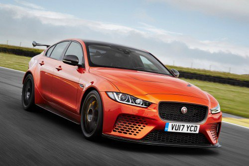 600-hp Jaguar XE SV Project 8 is brand's meanest, quickest four-door model ever