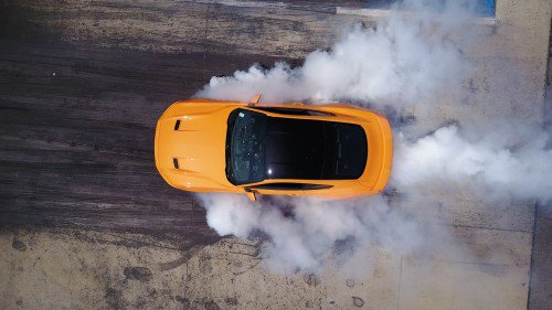 2018 Ford Mustang EcoBoost gets Line-Lock because you could use a burnout